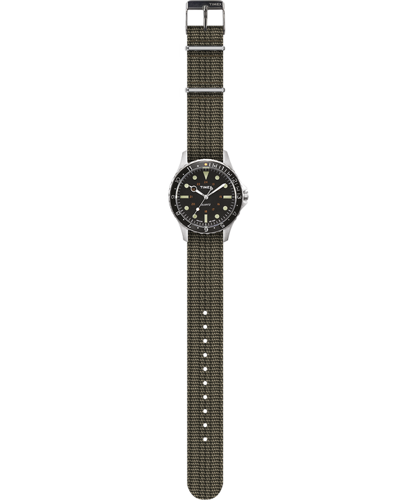Navi Harbor 38mm Fabric Strap Watch
