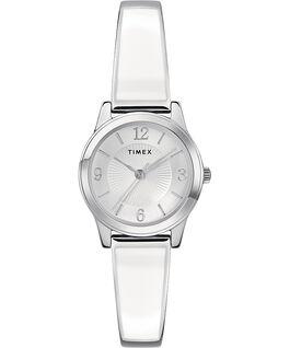 Fashion Stretch Bangle 25mm Bracelet Silver-Tone large