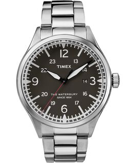 Waterbury Traditional 40mm Stainless Steel Watch Stainless-Steel/Black large