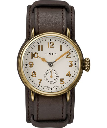 24bf514132bb Welton 38mm Leather Strap Stainless Steel Watch