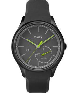 iQ+ Move 41mm Silicone Strap Watch Black large