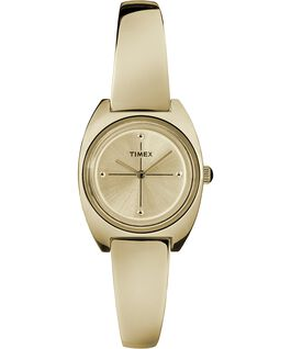 Milano 24mm Semi-Bangle Watch Gold-Tone/White large