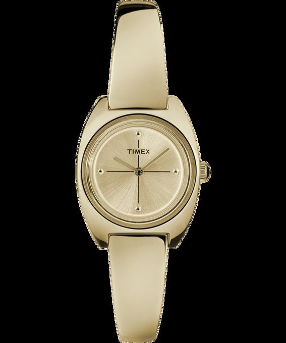 Milano 24mm Semi-Bangle Watch Gold-Tone/White large