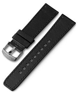 Bracelet en cuir à dégagement rapide 22mm 1 Gris large
