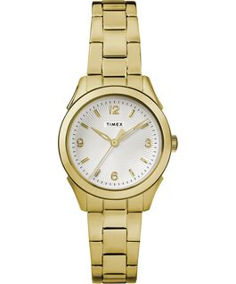 Torrington Womens 3-Hand 27mm Bracelet Watch Gold-Tone/Silver-Tone large