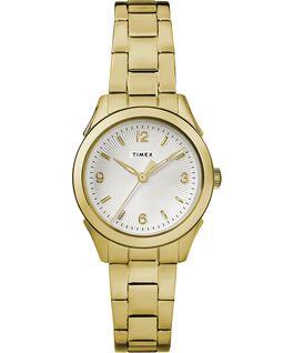 Torrington Womens 3-Hand 27mm Bracelet Watch Gold-Tone/Silver-Tone large