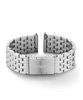 Bracelet en acier inoxydable 18mm à dégagement rapide Acier inoxydable large