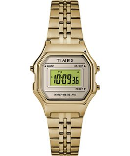 Digital Mini 27mm Bracelet Watch Gold-Tone large