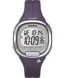 Ironman Transit 10 33mm Mid-Size Resin Strap Watch Purple/Silver-Tone large