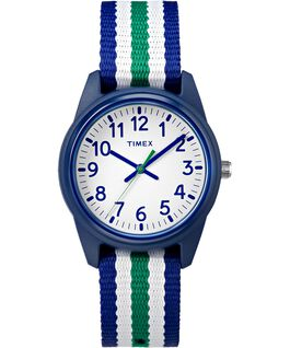 Kids Analog 30mm Fabric Strap Watch  large
