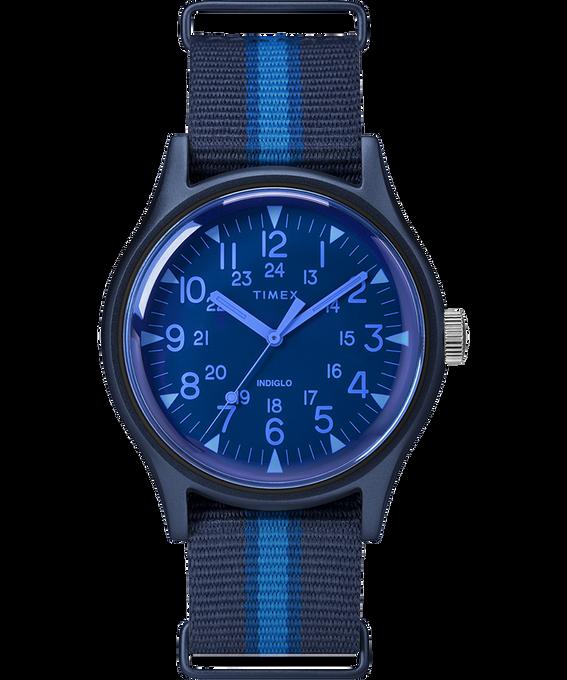 Reloj MK1 California de 40mm con correa de tela Azul large