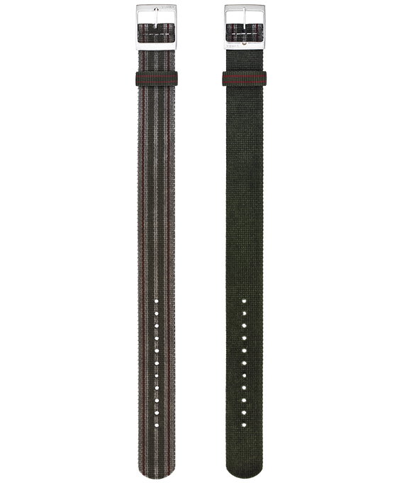Timex Archive Dirty Washed Grosgrain Reversible  Strap  large