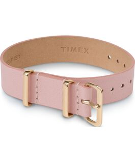 Variety 16mm Leather Slip Thru Single Layer Strap Pink large