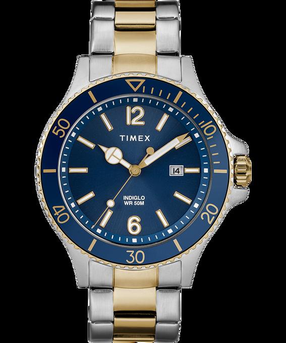 Montre bracelet Harborside 42mm Bicolore/Bleu large
