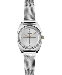Milano Petite 24mm Mesh Band Watch Silver-Tone/Stainless-Steel large