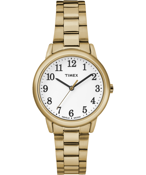 Easy Reader 30mm Bracelet Watch Gold-Tone/White large