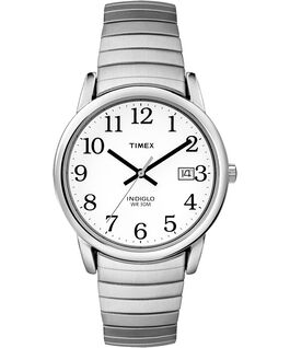 Easy Reader 35mm Stainless Steel Watch with Date Silver-Tone/Stainless-Steel/White large