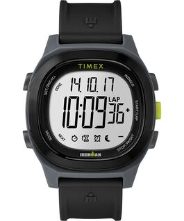 Ironman Transit 40mm Full Size Resin Strap Watch Black large