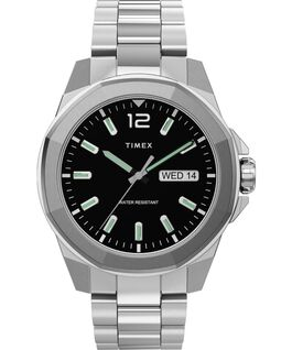 Essex Avenue 44mm Stainless Steel Bracelet Watch Silver-Tone/Stainless-Steel/Black large