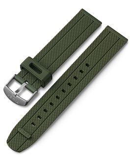 Bracelet en silicone à dégagement rapide 20mm Vert large