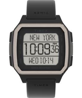 Zegarek Command Urban 47 mm z paskiem silikonowym Czarny large