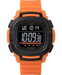 BST.47 47mm Silicone Strap Watch Orange/Black large
