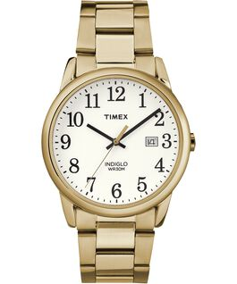 Easy Reader Date 38mm Bracelet Watch Gold-Tone/White large